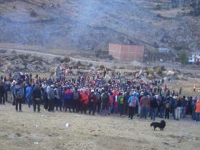 Pobladores de Andahuaylas piden levantar Estado de Emergencia