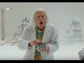 Volver al Futuro: Doc Brown regresa para dar un mensaje