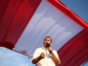 Las Bambas: Humala confía en consolidar clima de paz en Apurímac