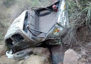 Las Bambas: dos policías de Dinoes fallecieron tras caída de camioneta