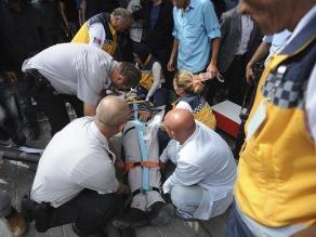 Turquía: 11 muertos al chocar autobús contra un paradero
