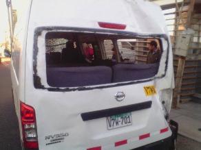 Arequipa: 24 heridos dejan tres accidentes de tránsito