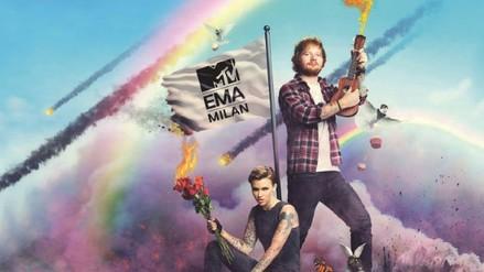 MTV EMA: Ed Sheeran y Ruby Rose serán los presentadores