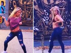 YouTube: peleadora de UFC Paige VanZant protagonizó sensual baile
