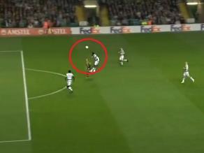 Europa League: Terrible blooper de defensa del Celtic que acabó en gol