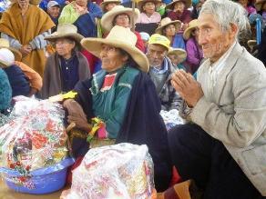Huamachuco: entregarán dos mil canastas de víveres en Día de la Caridad