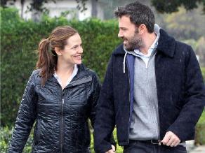 ¿Garner y Affleck detuvieron divorcio porque ella está embarazada?