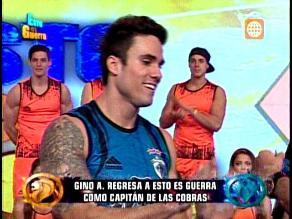 EEG: Gino Assereto volvió como capitán de Las Cobras