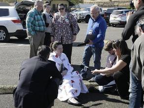 EEUU: Diez muertos y siete heridos en tiroteo de Oregón