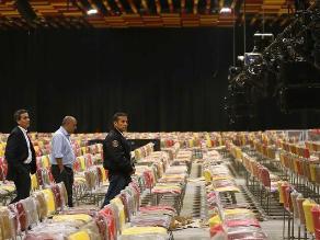 Humala inauguró centro de convenciones para reuniones del BM y del FMI