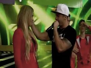 Combate: Mario Hart regresó al programa y besó a Leslie Shaw