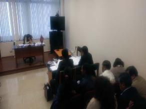 Arequipa: dictan comparecencia restringida al