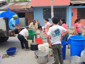 Yurimaguas: pobladores se quedan sin servicio de agua y acuden a ríos