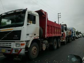 Huaura: pobladores bloquearon carretera Panamericana Norte