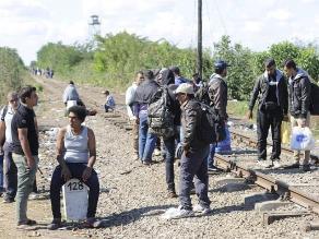 Croacia: Estiman uno 100 mil refugiados han pasado en 16 días