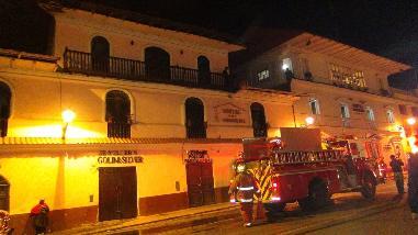 Cusco: grifo se incendia y pone en alerta a la población de Quillabamba