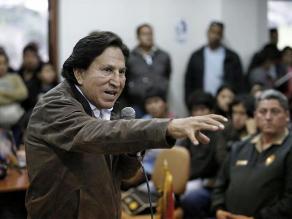 Alejandro Toledo: Keiko Fujimori es la primera dama de la dictadura