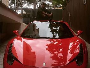 Instagram: Neymar y el Ferrari que compró para olvidar Porsche embargado