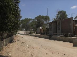 Piura: pobladores ubicados en quebrada El Gallo se resisten a ser reubicados