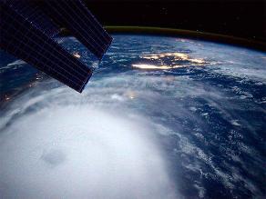 Astronauta de la NASA comparte foto de huracán Joaquín desde el espacio