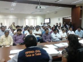 Lambayeque: en reunión evaluaron planes preventivos por FEN de municipios