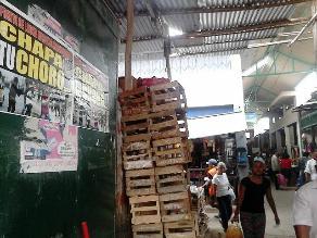 Chiclayo: comerciantes de Moshoqueque cansados de inseguridad
