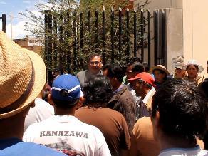 Huancayo: pobladores se oponen a cierre de
