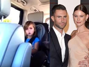 YouTube: Niña se enteró que Adam Levine es casado y reaccionó así