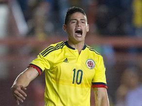 Colombia vs. Perú: James Rodríguez entrenó y se volvió a desgarrar