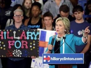 Clinton arremete contra Asociación del Rifle tras matanza en Oregón