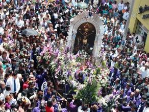Señor de los Milagros: primera procesión se inicia este sábado