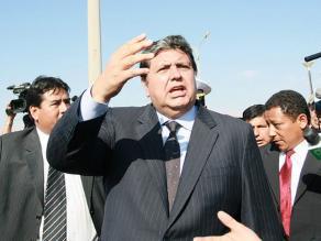 Alan García: Humala rechaza presencia de las FF.AA. en las calles por capricho