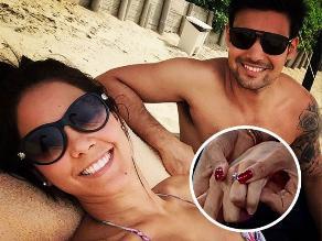 ¿Karen Schwarz y Ezio Oliva se casan este fin de semana?