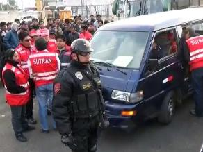 Cusco: transportistas amenazan a cuatro inspectores de la Sutran en Anta