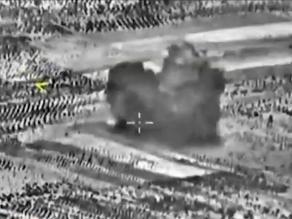 Rusia ataca por primera vez el principal bastión del EI en Siria