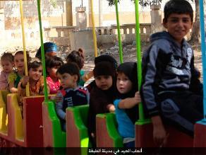 Estado Islámico abre dos parques de diversiones