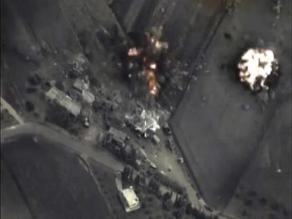 Mercenarios del EI abandonan sus posiciones por bombardeos rusos