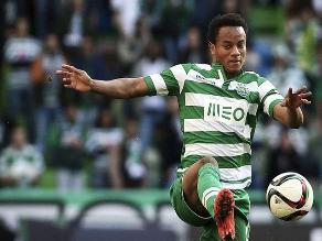 Facebook: Sporting Lisboa reveló por qué no juega André Carrilllo