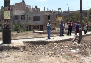 Chiclayo: vecinos se organizan y cuidan calles para evitar arrojo de basura