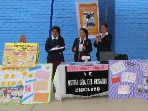 Tres colegios de Lambayeque finalistas en feria de Ciencia y Tecnología