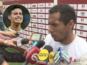 Perú vs. Colombia: Carlos Lobatón no se intimida ante James Rodríguez
