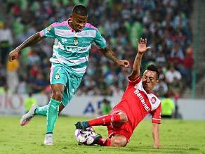 Christian Cueva fue titular en empate de Toluca en Liga MX