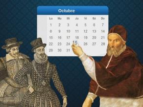 Efemérides del 04 de octubre: trascurre el último día de uso del calendario juliano