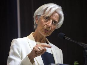 FMI: Legarde sugiere a Sudamérica hacer reformas en educación e infraestructura