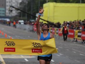 Maratón RPP Scotiabank 2015: revive en imágenes la llegada de Jhon Cusi