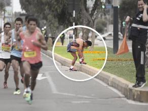 Maratón RPP: Raúl Machacuay perdió primer lugar por amarrarse pasadores