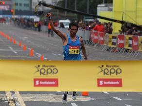 Maratón RPP: Jhon Cusi y la emotiva llamada de su hermana tras ganar