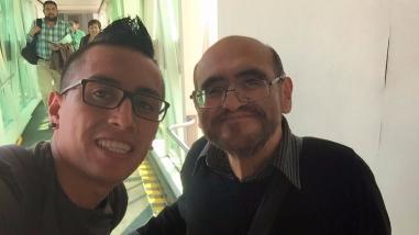 Facebook: Christian Cueva pasó divertido momento con el 'Señor Barriga'