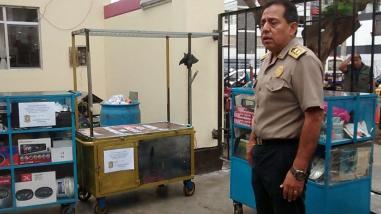 Trujillo: policía recomienda no comprar cosas robadas de Tacora