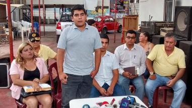 Familiares de César Álvarez protestan contra Informe Áncash
